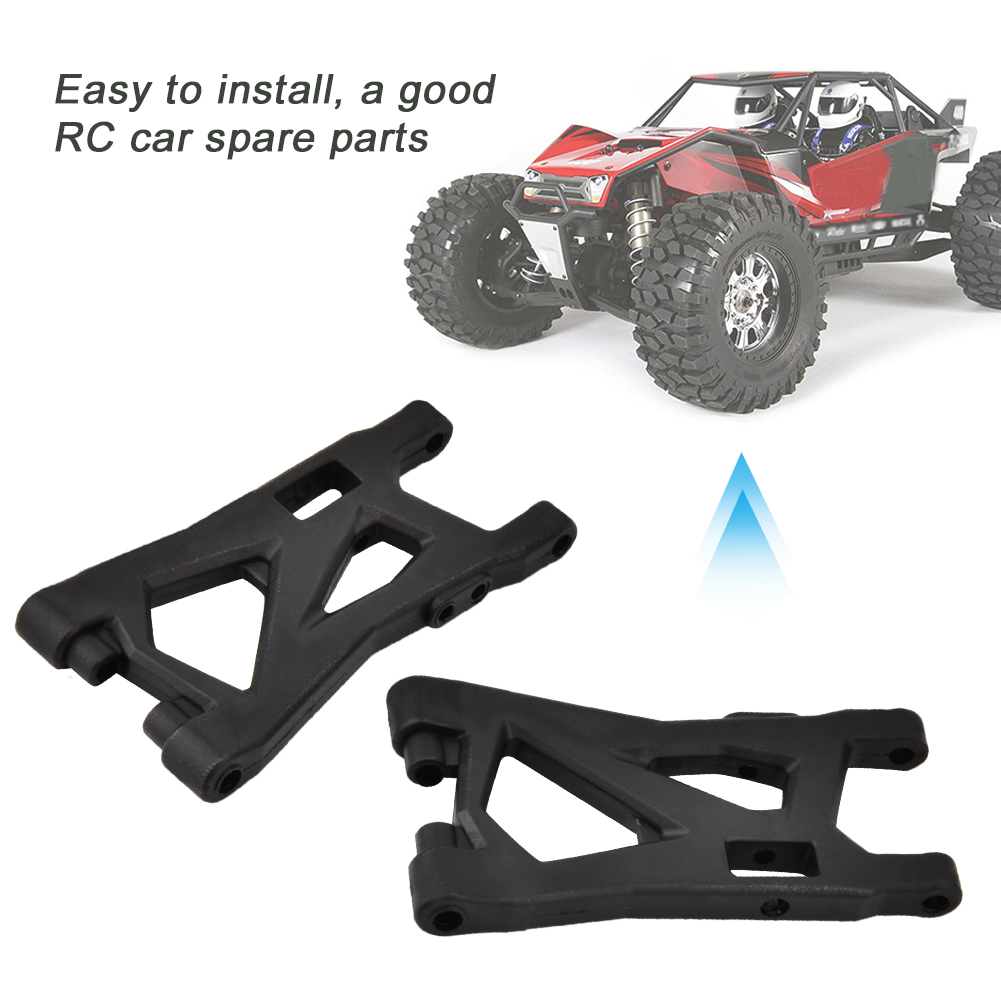 Free Shipping 2pcs 70/5000 REMO P2505 Black Suspension Arms 1/16 Truggy Buggy Short Course RC Car Parts