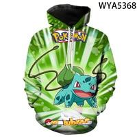 New Games Pokemon Fashion Casual Boy Girl Kids 3D Printed Hoodies Sweatshirts Men Women Children Long Sleeve Streetwear Jacket 5