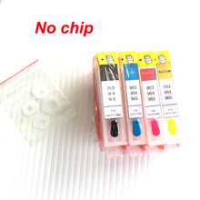 YOTAT No Chip Refillable ink cartridge for HP902 HP903 HP 902 903 904 905 For OfficeJet 6950 6956 Pro 6960 6970