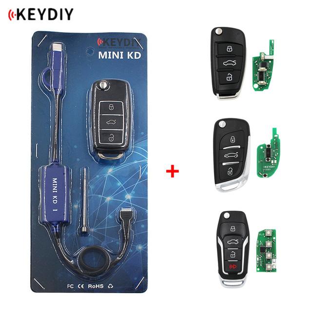 Mini KD Remote Key Generator Remotes Warehouse in mobile Phone Support Android Make over 1000 Auto Remotes + 4pc KD remote