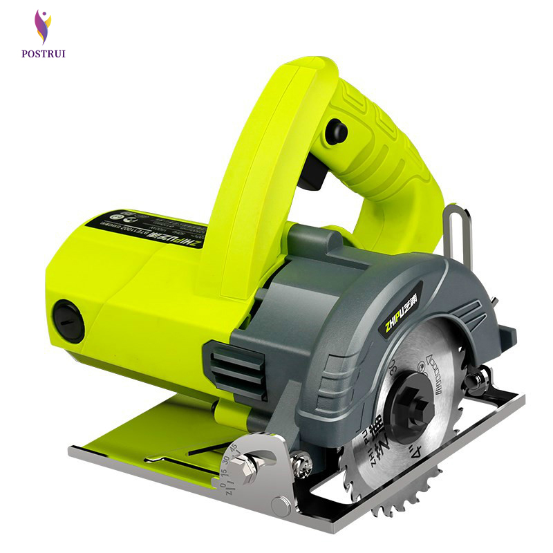 Household Stone Small Masonry Cutting Machine 45 Degree Ceramic Tile Hand-held Portable Toothless Electric Saw Cutting Machine
