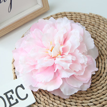 QT1-38 diameter 16cm big peony 10 color high-grade artificial flower fake wedding wall background wholesale