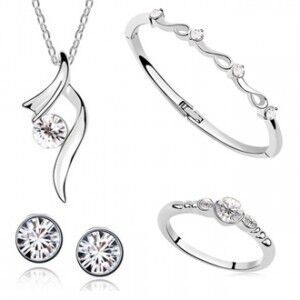 Exquisite Jewelry Set 925 Ster
