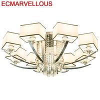 Decoração casa lustre e pendente para sala de jantar de cristal deco maison lampen luminária moderna loft suspendu luz pingente Luzes de pendentes     -