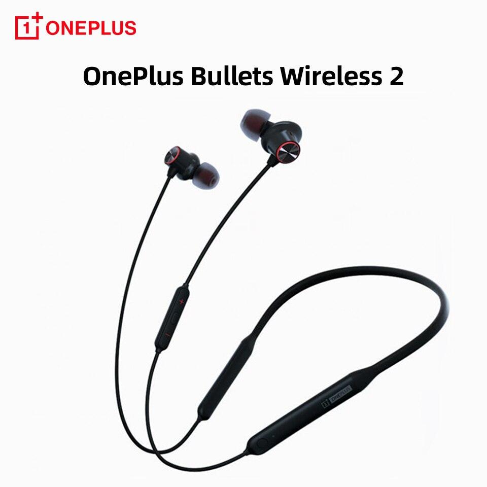 Для OnePlus пули беспроводные 2 HD Bluetooth наушники Warp Быстрая зарядка оригинальные One Plus пули Z беспроводные наушники гарнитура