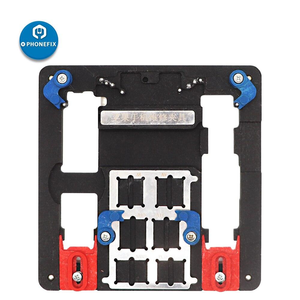 Motherboard Soldering Repair Fixture Holder For IPhone 5 6 6S 7 8 Plus Repair Tool Mobile Phone PCB Fixture Soldering Platfrom