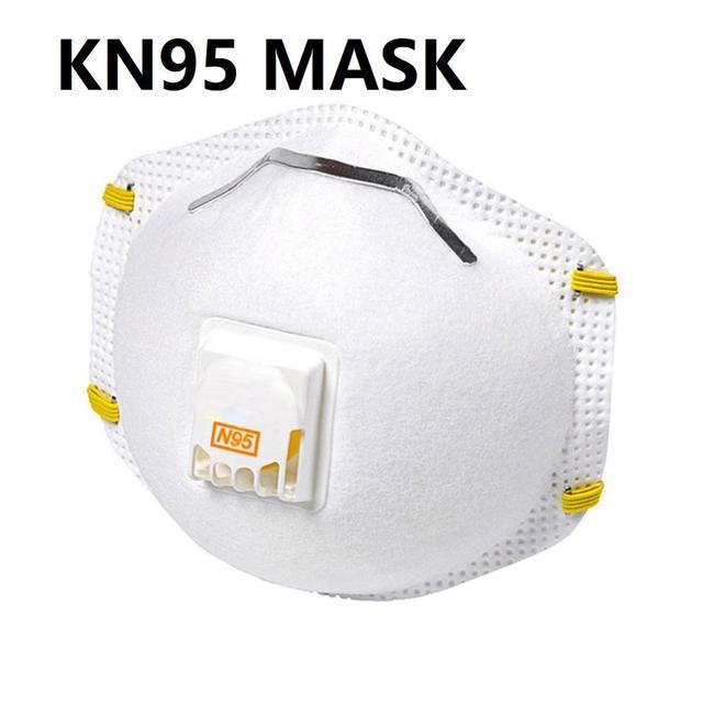 Vendita calda Maschera 20pcs FFP2 Filtro Filtro di Protezione Maschera maschere Anti-nebbia a prova di polvere maschera Viso per L'uomo e La Donna 1