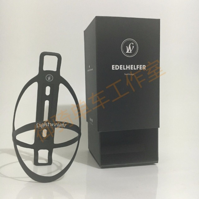 Edelhelfer portabotellas de fibra de carbono para bicicleta, soporte para botella de carbono, 18g
