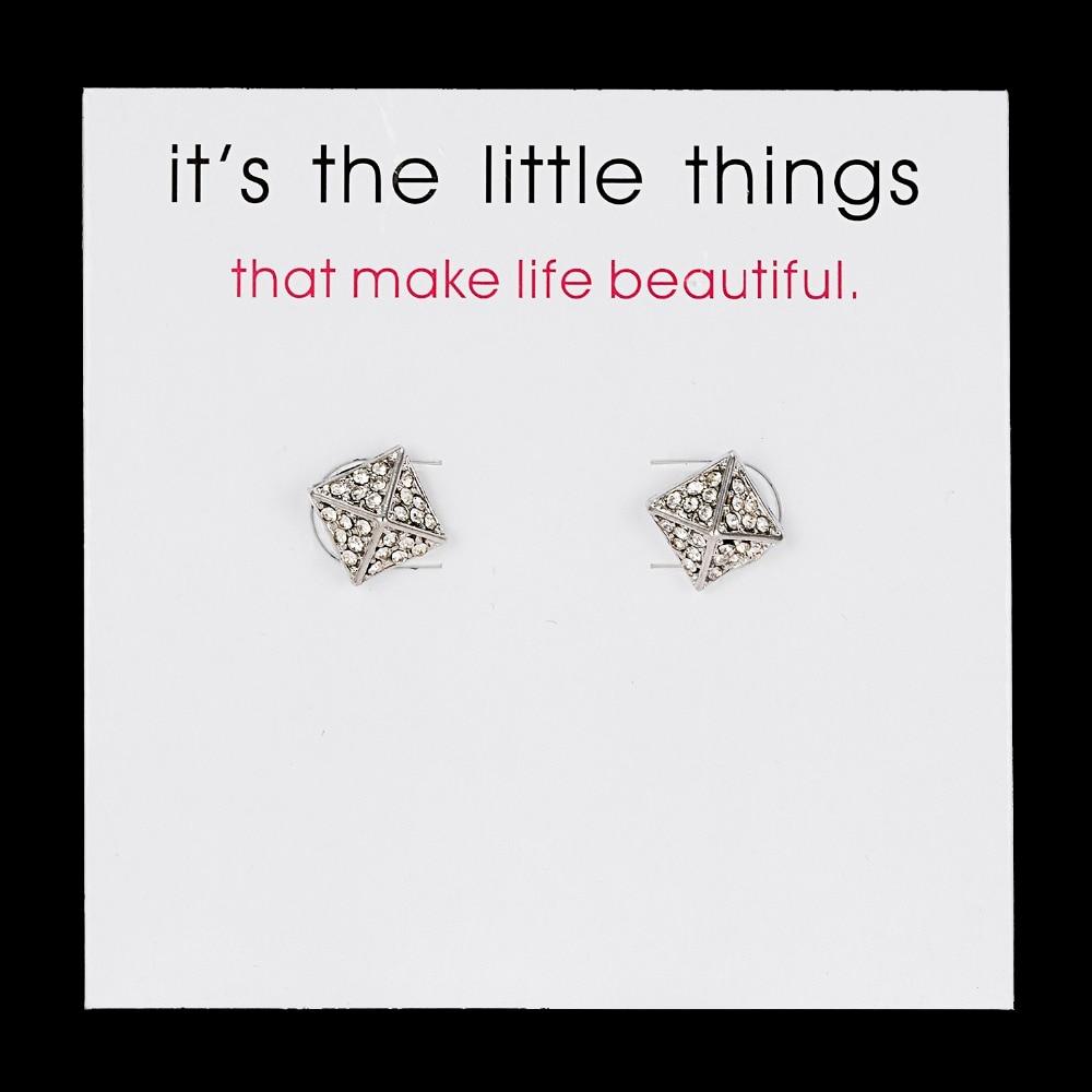 12 Pairs/set Stud Earrings Set With Card Transparent Zircon Balls Love Flowers Earrings Women Imulated Pearl Earrings Jewelry 108