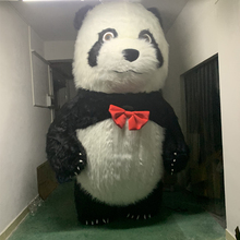 sellin Panda Inflatable Costume Polar Bear Mascot Halloween Costumes For 3M Tall Suitable 1.7m To 1.95m