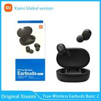 Xiaomi-auriculares inalámbricos Redmi airdots 2, por Bluetooth 2021, novedad de 5,0