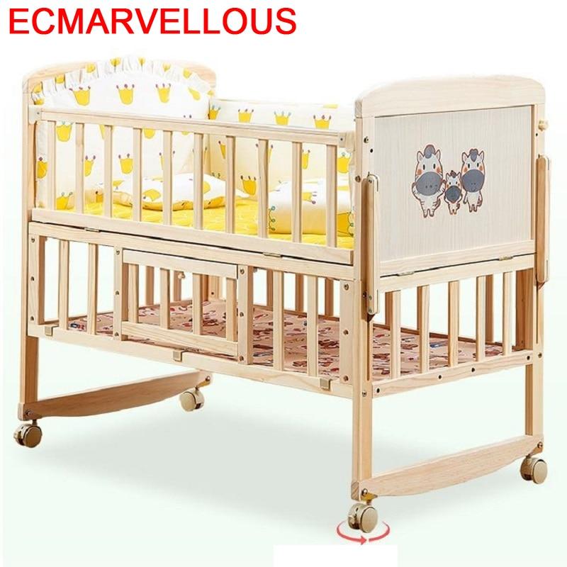 Cama Menino Recamara Infantil Fille Furniture Kinder Bett Letto Bambini Girl Wooden Lit Kinderbett Chambre Enfant Kid Bed