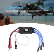 XXD 30A 2-4S ESC Brushless Motor Speed Controller RC BEC ESC T Plug 450 V2 Helicopter Boat for FPV F450 Mini Drone plastic tail blades for r c helicopter 450 v2 v3 pair