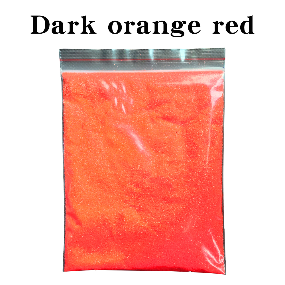 50g Dark Orange Red Glitter Powder Pigment Coating For Painting Nail Decorations Automotive Arts Crafts Mica Powder Pigment