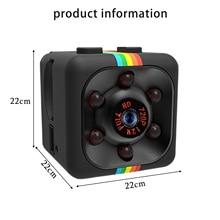 SQ11 Mini Security Camera Tiny Motion Sensor Outdoor Sports Children's Small Camera Hd 1080p Recorder Home USB Camera