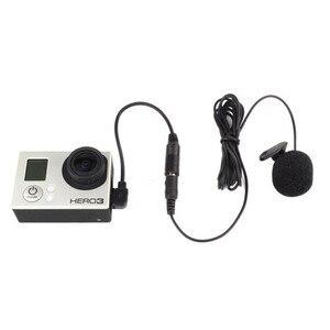 Image 2 - 3.5mm 마이크 어댑터가있는 스테레오 마이크 Gopro Hero3/3 +/4 용 외부 마이크