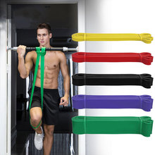 208cm Fitness Pull up Resistance Bands Sport Goods Heavy Duty Assist Band Yoga E