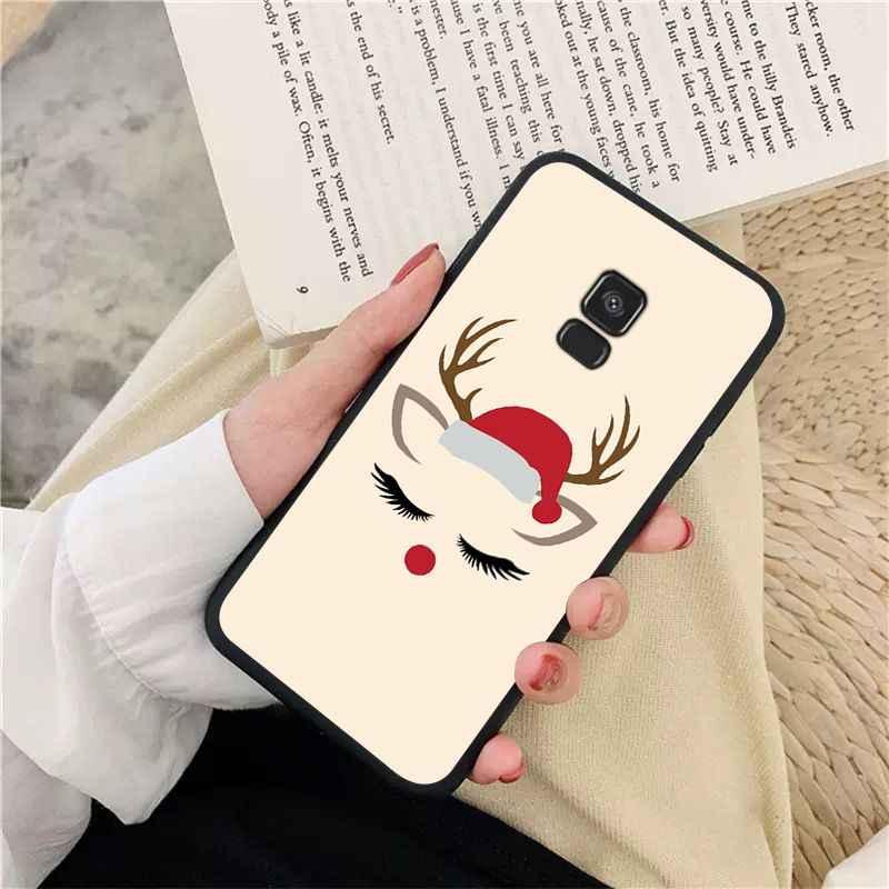 BBTHBDNBY с рождественским оленем покупателей высокое качество чехол для телефона для samsung обратите внимание на возраст 3, 4, 5, 7, 8, 9, 10 pro A7 2018 A10 A40 A50 A70 J7 2018