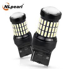 Сигнальная лампа nlpearl 2x7440 led w21w t20 7443 светодиодная
