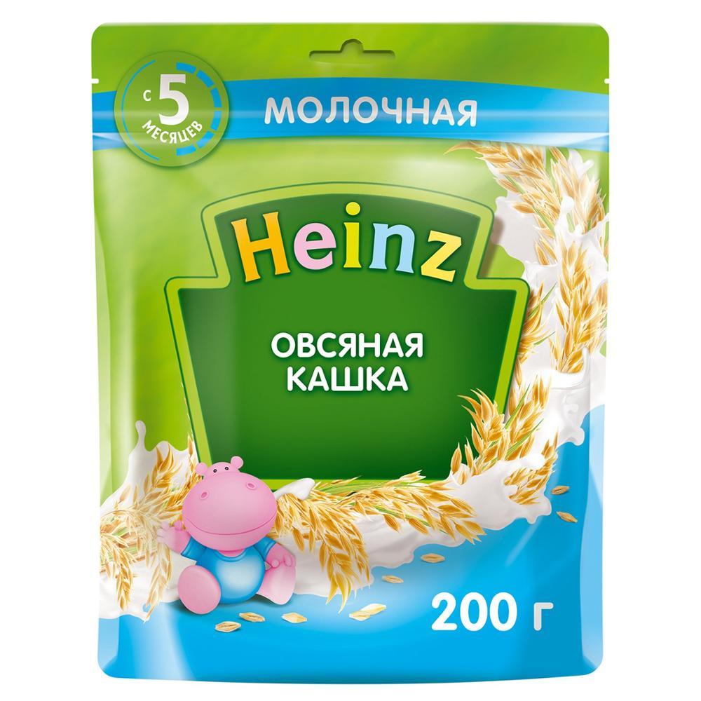 Каша молочная Heinz овсяная 200 г с 5 месяцев