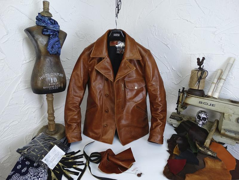 Hbb4b4811c8ff4447b4765b0c1a3cd4f92 YR!Free shipping.Italy Oil Wax Cowhide coat.Helix Rider genuine leather jacket,winter men vintage brown leather jacket.sales