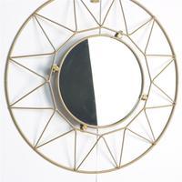 Nórdico Óculos de Sol  Óculos Redondo Geométrico  Phnom Penh  Montagem Em Parede de Espelho Espelho Do Salão De Beleza Da Arte Da Parede Vaso Sanitário Do Banheiro