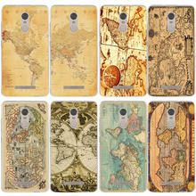 Slim Silicone Soft TPU Phone Cases for Xiaomi Redmi Mi Note 3S 4X 4A 6 5 5S 5A 8 A1 Pro Plus Max 2 3 Coque Fundas Antique Map(China)
