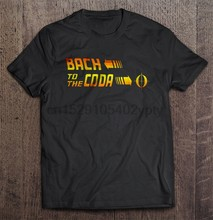 T-shirt da uomo Bach To The Coda t-shirt da donna