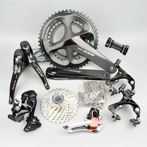 Image 5 - SHIMANO 5800 105 R7000 Groupset R7000 Derailleurs ROAD Bicycle 165 170 172.5 175MM   12 25 11 28 30T 32T34T  50 34 52 36 53 39T