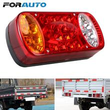 Signal Indicator For Trailer Lorry Rear Stop Brake Lights 12V Car Truck Tail Light 1Pc Rear Lamps 32LED Taillight Waterproof