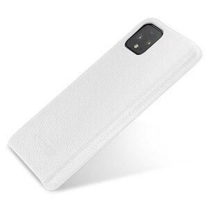 Image 2 - Capa protetora para smartphones, case protetor, couro genuíno, para google pixel 4, google pixel, 4xl escudo de proteção