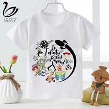 Toy Story Shirt New Funny T-Shirt Boys Boy T Shirt Fashion O-Neck Kids Short Sleeve Tees Printing Forky Children Clothing цена и фото
