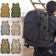 40L حقيبة متعددة الاستخدامات الجيش مول العسكرية على ظهره في الهواء الطلق تسلق التخييم تسلق الجبال الصيد المشي لمسافات طويلة حقيبة للسفر مقاوم للماء
