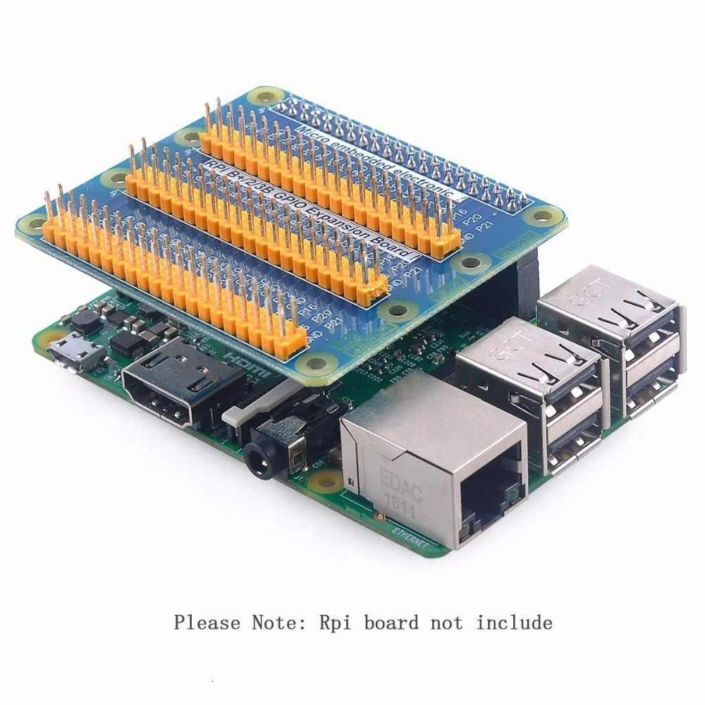 Framboise Pi Gpio carte d'extension d'extension une rangée pour être trois rangées Gpio pour framboise Pi 3 Pi 2 Pi modèle B +