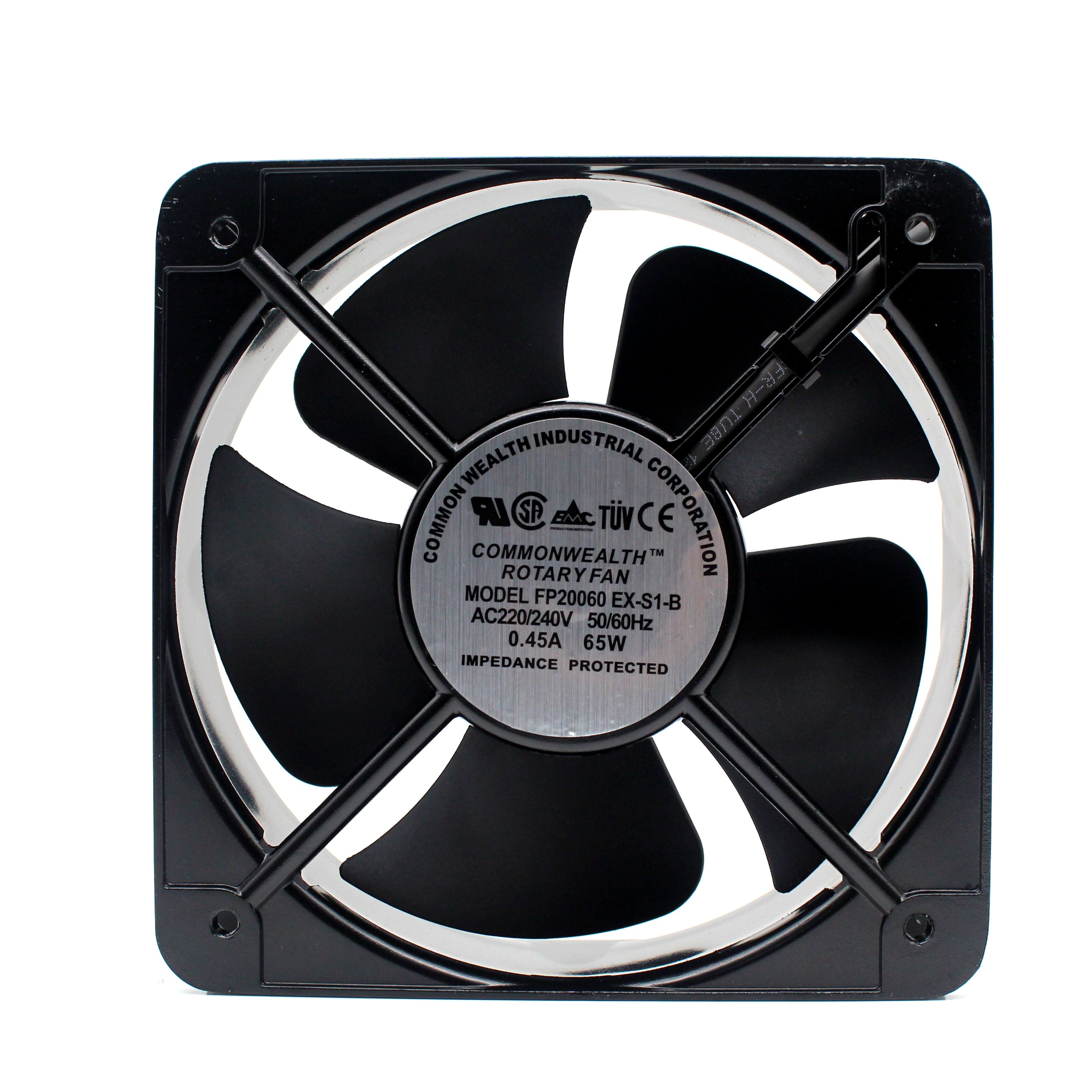 New Commonwealth 220V/380V FP-20060EX-S1-B 22060 Electric Cabinet Electric Box Cooling Fan 18060