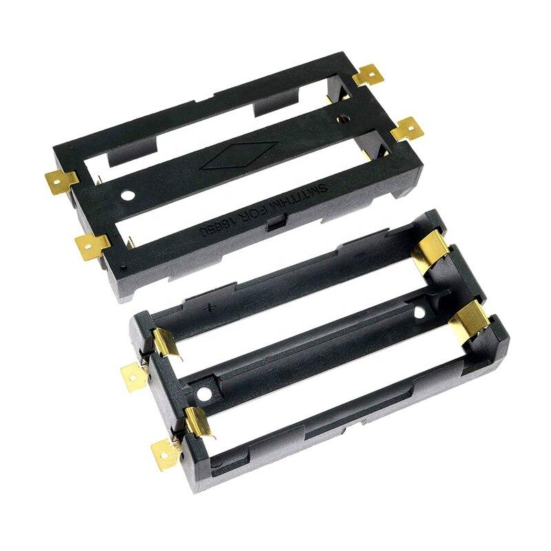 Замена Keystone 1048 SMT SMD DIY 2x18650 Держатель батареи коробка для хранения с позолоченные ФОСФОРНЫЕ бронзовые значки        АлиЭкспресс