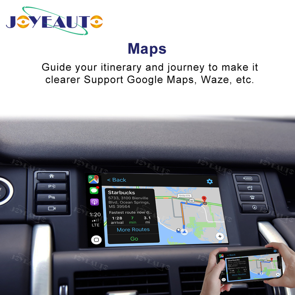Joyeauto Wireless Apple Carplay For Land Rover Jaguar Discovery Sport F Pace Discovery 5 Android Auto Mirror Wifi Ios13 Car Play Car Multimedia Player Aliexpress