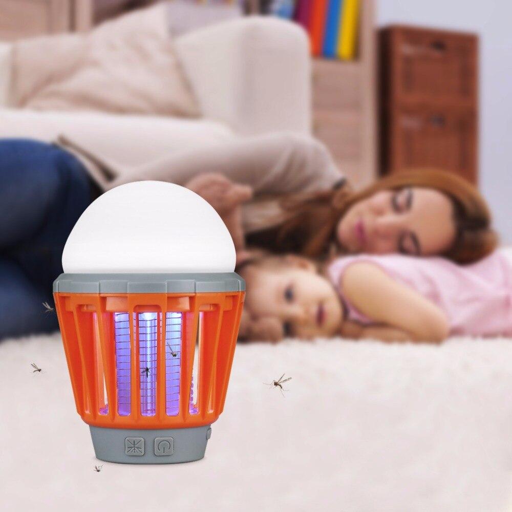 Mosquito Zapper Lantern Camping Light USB Charging Mosquito Killer Lamp Multi Purpose Pest Repeller Waterproof Bug Killer Mosquito Killer Lamps    - title=