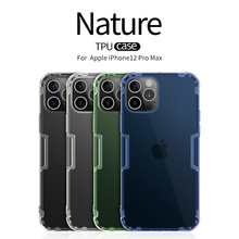 Voor Apple Iphone 12 Pro Max Tpu Case Transparant Soft Case Beschermhoes Siliconen Clear Case Nillkin