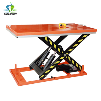 Kinds of Stationary scissor lift table with controller on cheap price