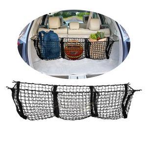 Image 2 - Auto Veranstalter Hinten Lkw Lagerung Tasche Gepäck Netze Haken Dumpster Net Für Ford F150 F650 Atlas Abendessen Duty Ranger Zubehör