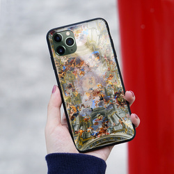 iPhone 11 Pro Max,Hieronymus Bosch Iphone 8 plus case iPhone x Case Modern Painting Iphone 6 case Silicone Iphone XR Case