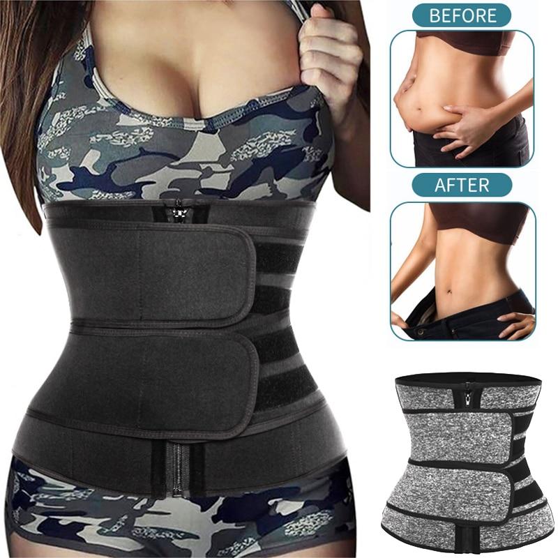 Waist Trainer Women Slimming Sheath Sweat Body Shaper Weight Loss Shapewear Belly Shapers Reducing Girdles Belt Fajas Corset