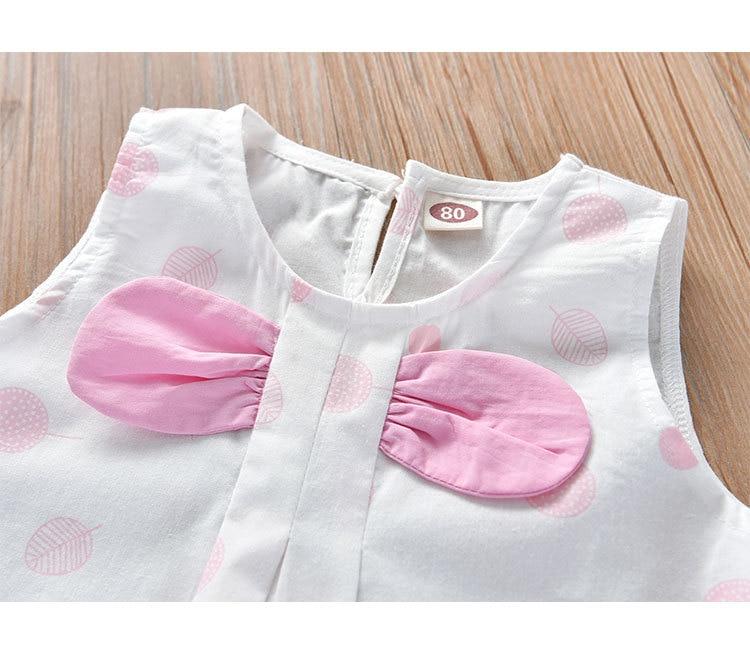Hbb4d5b3a2ff148bfba560f849afcb9adL Humor Bear Girls Clothing Set 2020 Korean Summer New Ice Cream Bow T-shirt+Pants Kids Suit Toddler Baby Children's Clothes