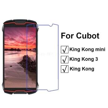 Перейти на Алиэкспресс и купить Закаленное стекло для Cubot KingKong Mini защита экрана 4,0 дюймЗащитная пленка для переднего телефона для Cubot King Kong 3 Защитная пленка для стекла ^