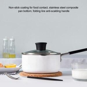 Image 5 - Xiaomi Original cocina leche Pot Cake Pan crepe Maker, capacidad: 1.36L