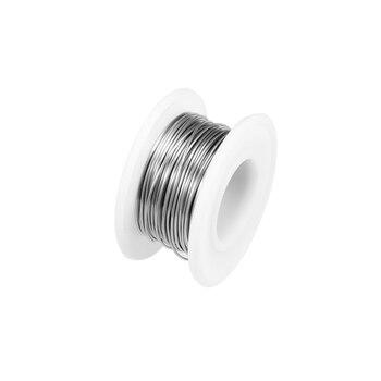 Cable de resistencia de calefacción uxcell 0,6mm 32AWG, cables de resistencia nicromo para elementos de calefacción 32 pies