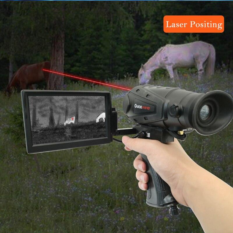 Visão Noturna De Imagem Térmica infravermelha N400S 510P de Alta Definição Noite Telescópio Busca L40 Termovisor