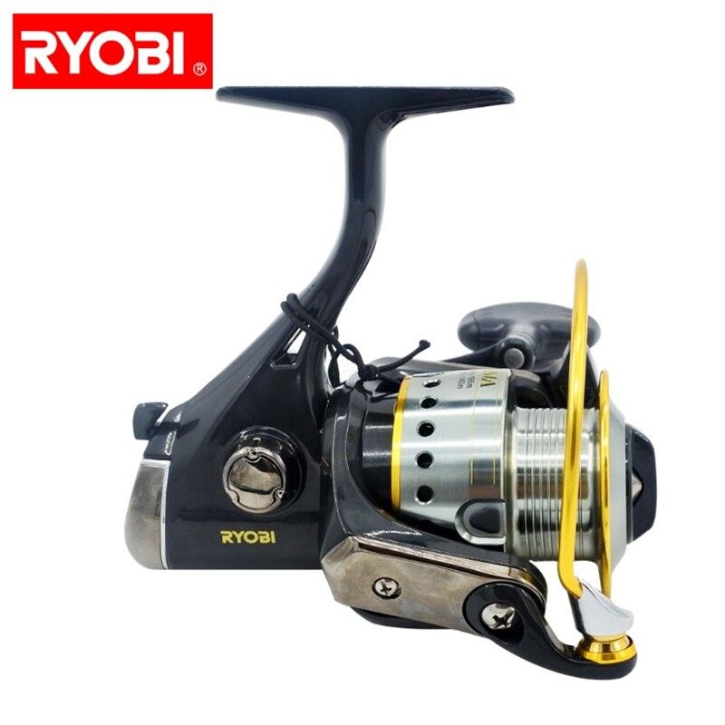 RYOBI Fishing reel ECUSIMA 1000VI 2000VI 3000VI 4000VI 6000VI 8000VI china original fishing spinning reel spinning reel beari