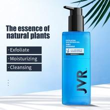 JVR Men Gel Exfoliante Facial Scrub Dead Skin Removal Nourishing Moisturizing Face Peeling Cleanser Hand Body Exfoliating Male недорого